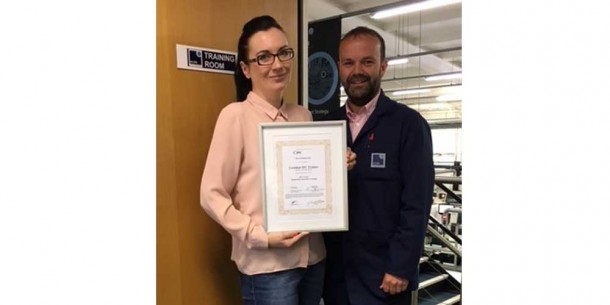 IPC-A-610F Trainer Accreditation – Ewa Switakowska
